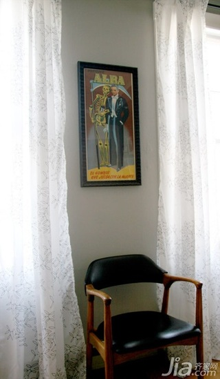 简欧风格公寓窗帘海外家居