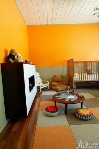 简约风格别墅富裕型140平米以上儿童房儿童床海外家居