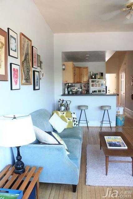 简约舒适居 80后夫妻携手打造经济型一居室2/13