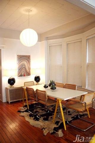 简约风格二居室简洁经济型餐厅灯具效果图