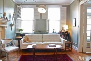 简约风格复式简洁10-15万客厅背景墙沙发效果图