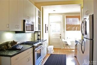 简约风格复式简洁10-15万厨房橱柜安装图