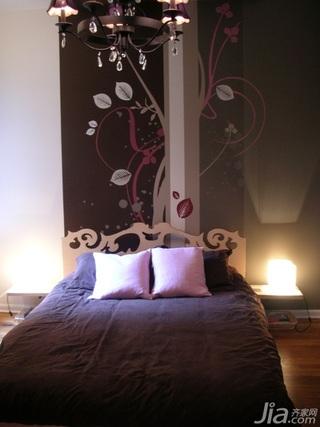 紫色迷情 清新一居室