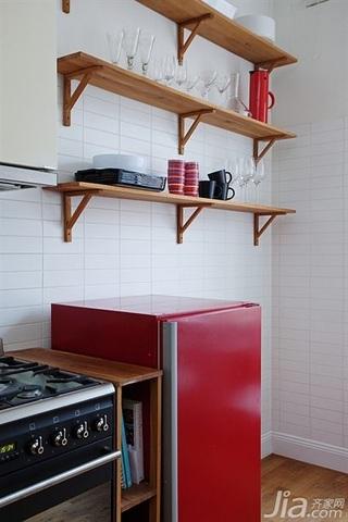 宜家风格二居室经济型厨房装潢
