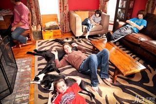 舒适美式风 惬意三居室