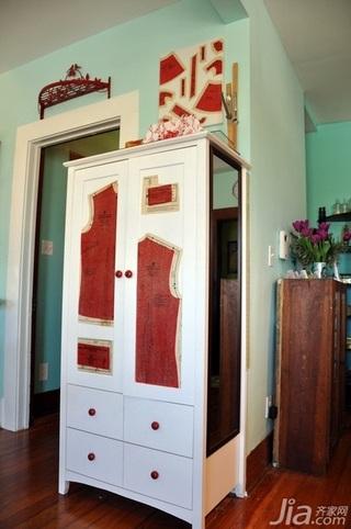 混搭风格别墅130平米客厅衣柜海外家居