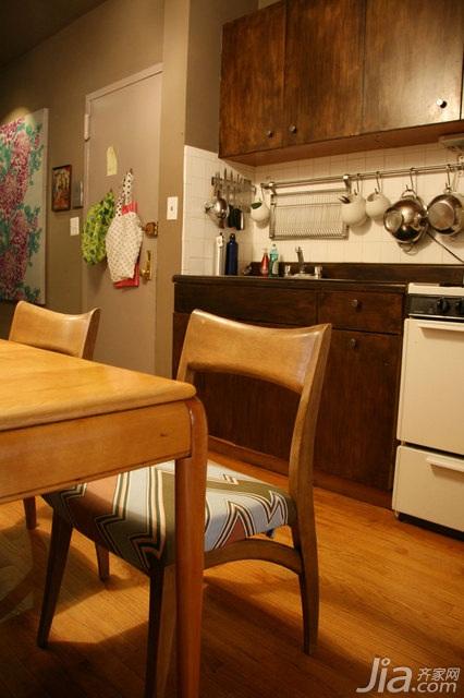 欧式风格公寓富裕型90平米餐厅橱柜海外家居