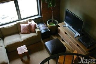 个性旋转楼梯设计 超强收纳一居室