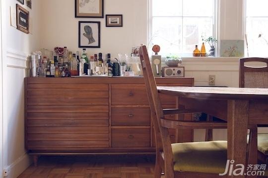 欧式风格公寓富裕型餐厅橱柜海外家居