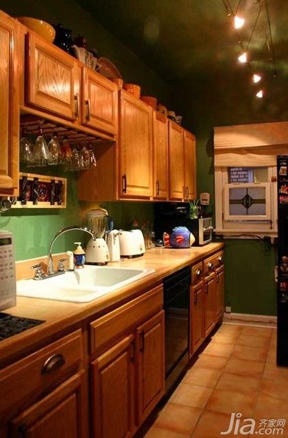 混搭风格公寓富裕型厨房海外家居