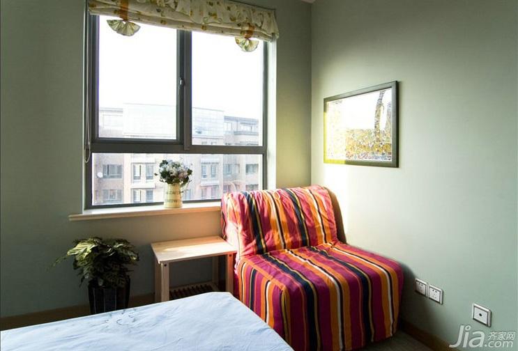 风格复式富裕型卧室婚房设计图-您正在访问第3页 装修效果图案例