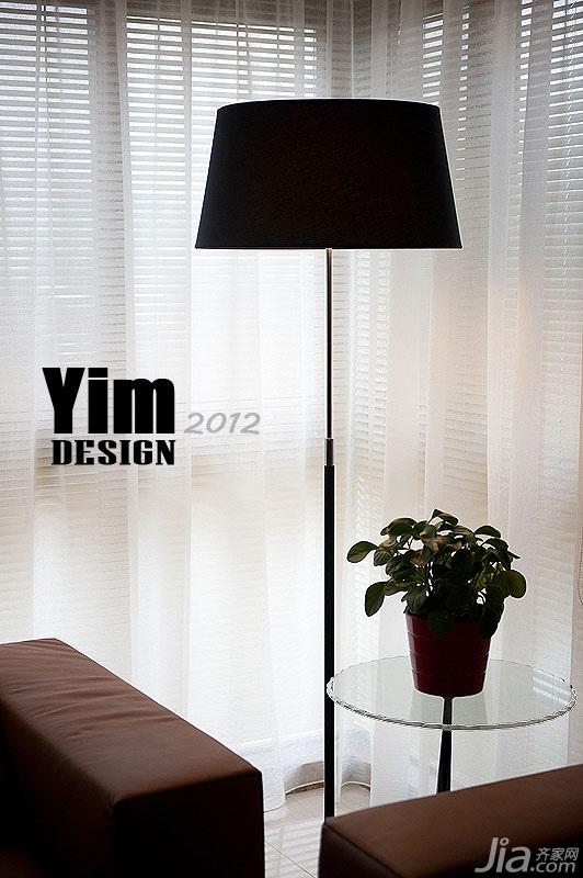 简约风格三居室130平米灯具效果图