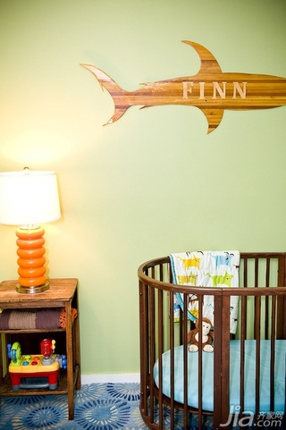 简约风格别墅豪华型140平米以上卧室儿童床海外家居