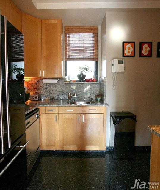 混搭风格别墅富裕型厨房海外家居