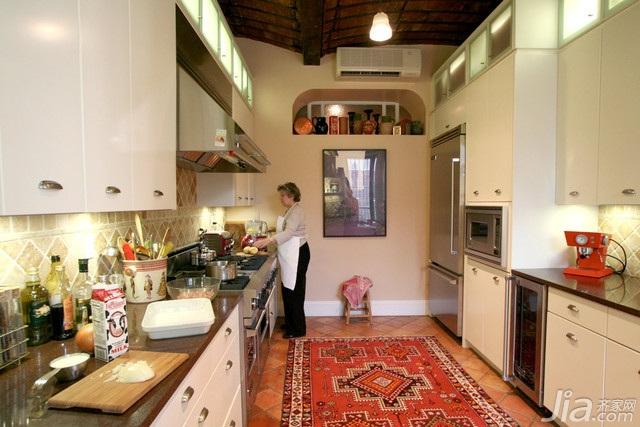 美式风格别墅富裕型厨房海外家居