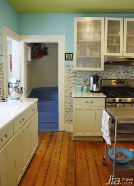 混搭风格别墅富裕型140平米以上厨房海外家居
