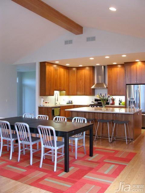 简约风格别墅富裕型厨房海外家居
