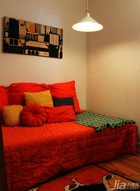 混搭风格二居室3万-5万沙发背景墙沙发海外家居