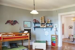 欧式风格别墅富裕型儿童房儿童床海外家居