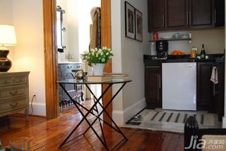 欧式风格公寓温馨经济型50平米厨房过道橱柜海外家居