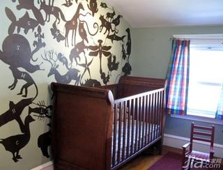 欧式风格别墅豪华型140平米以上卧室儿童床图片