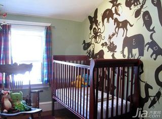 欧式风格别墅豪华型140平米以上卧室卧室背景墙儿童床效果图