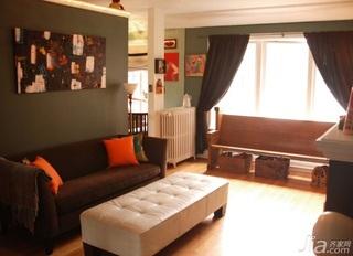 欧式公寓房 简洁大气客厅设计