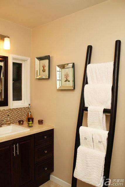 欧式风格别墅富裕型100平米卫生间浴室柜海外家居