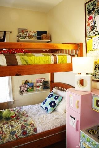 简约风格别墅富裕型130平米儿童房儿童床海外家居