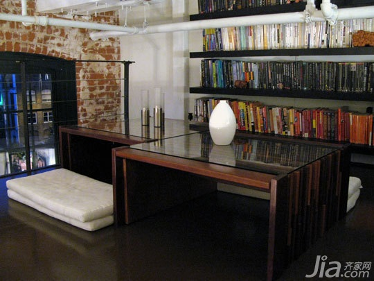欧式风格别墅豪华型140平米以上工作区书架效果图
