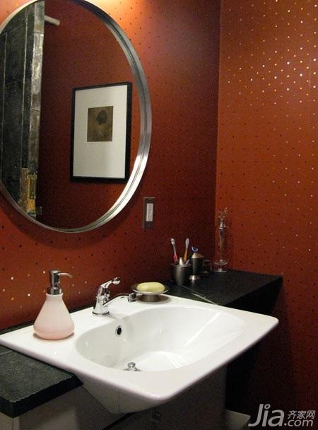 欧式风格别墅豪华型140平米以上卫生间洗手台图片