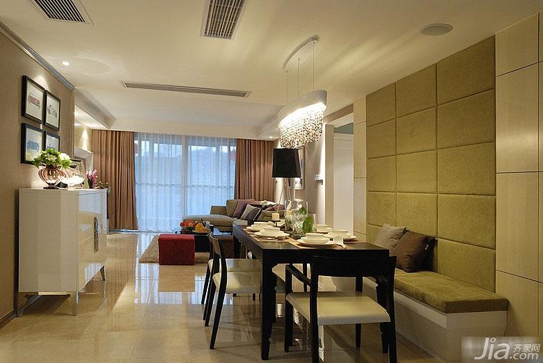 简约风格三居室富裕型130平米客厅装修