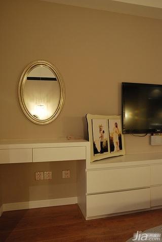 简约风格三居室富裕型130平米梳妆台效果图