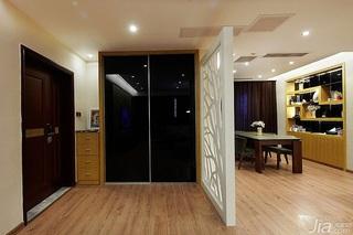 简约风格四房富裕型140平米以上门厅隔断玄关柜效果图