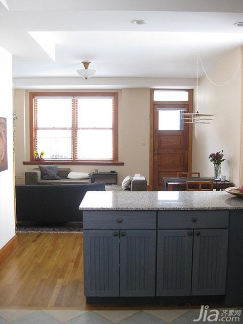 简约风格小户型经济型厨房海外家居