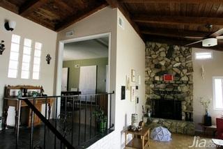 欧式风格跃层经济型100平米楼梯海外家居