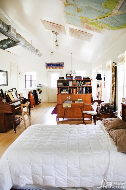 简约风格小户型简洁3万-5万卧室床海外家居