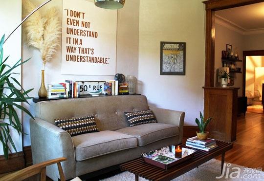 简约风格别墅经济型140平米以上客厅沙发海外家居