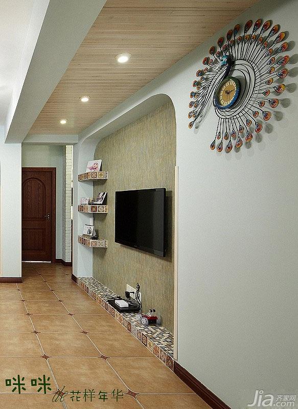 loft风格跃层富裕型140平米以上客厅吊顶设计