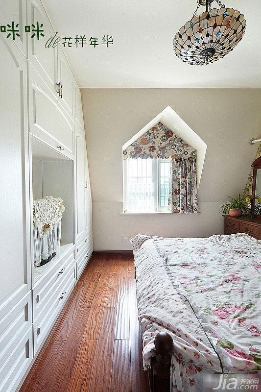 loft风格跃层富裕型140平米以上卧室效果图