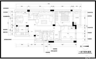 loft风格跃层富裕型140平米以上户型图