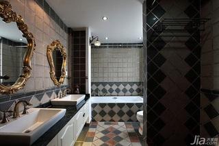 别墅20万以上140平米以上卫生间吊顶洗手台效果图