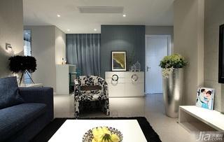 简约风格二居室经济型客厅过道装修效果图