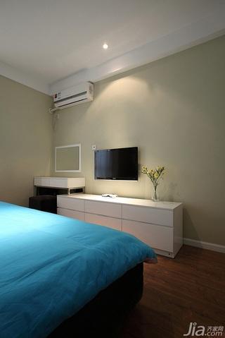 简约风格二居室经济型卧室电视柜效果图