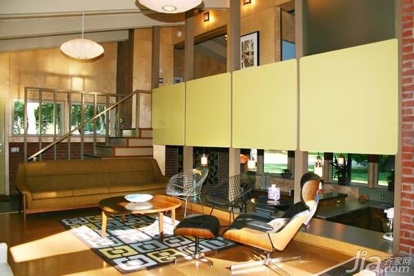 简约风格公寓经济型110平米客厅沙发海外家居