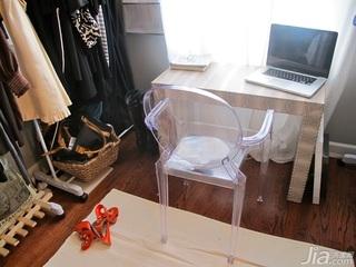 欧式风格公寓经济型100平米衣帽间书桌海外家居