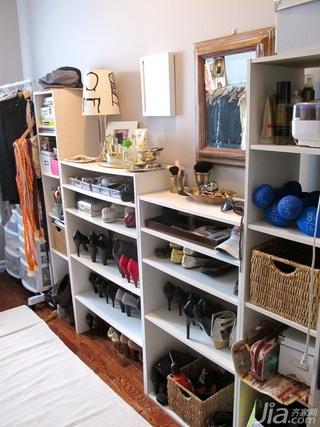 欧式风格公寓经济型100平米衣帽间衣柜海外家居