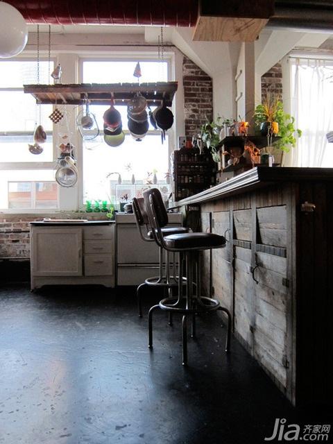 混搭风格公寓经济型140平米以上餐厅吧台橱柜海外家居