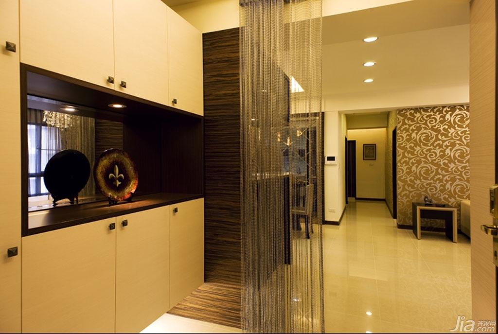 混搭风格公寓经济型140平米以上玄关隔断玄关柜台湾家居