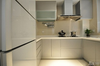 简欧风格二居室富裕型橱柜定做